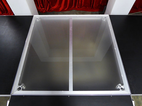 Frosted Acrylic Portable Stage
