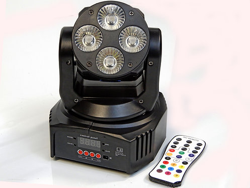 Mini Moving Head 412 RGBWA-UV