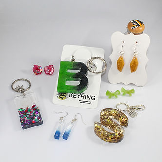Handmade Resin Jewellery & Key-ring's