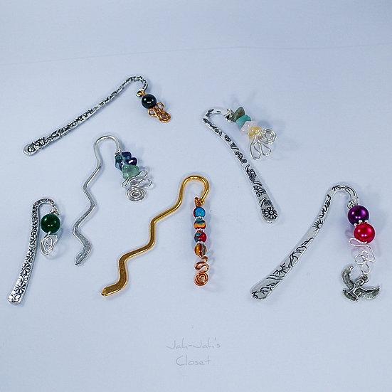Bead Bookmark (Various Designs)