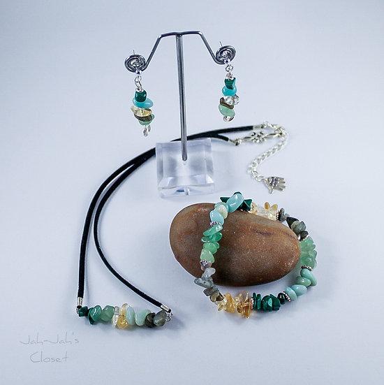Healing Jewellery Set -  'Good Luck'