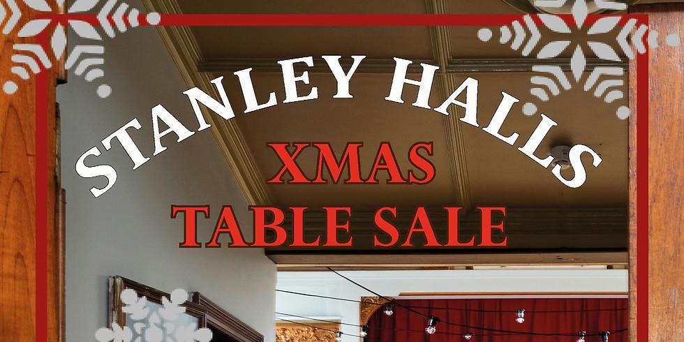 (Social Distanced) Christmas Table Sale @ Stanley Halls