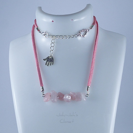 Healing Jewellery - Necklace - Rose Quartz