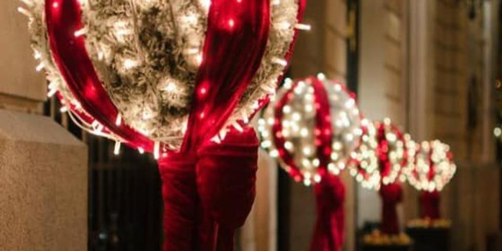 Late Night Christmas Shopping - Ewell Village
