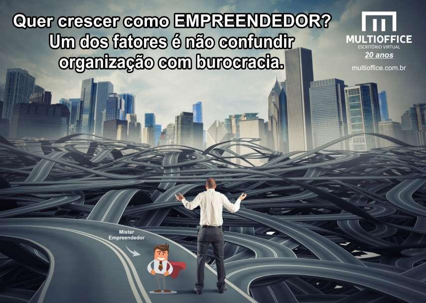 Empreendedor, não confunda organização com burocracia