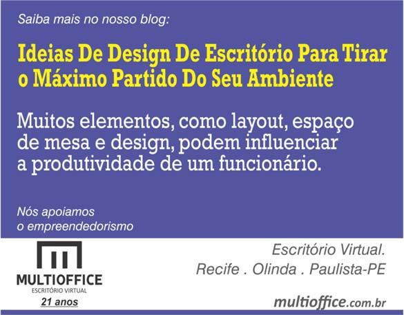 Ideias De Design De Escritório Para Tirar o Máximo Partido Do Seu Ambiente. Saiba mais...!