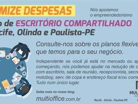 Minimize Despesas - Espaço de Escritório Compartilhado em Recife, Olinda e Paulista-PE