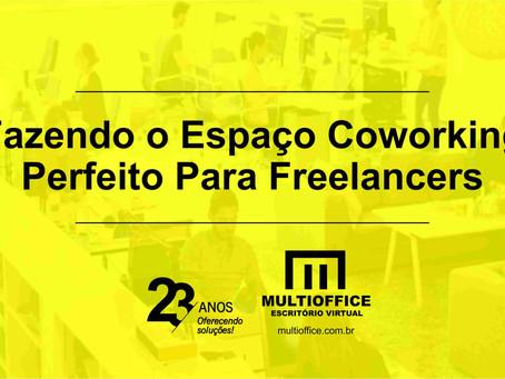 Fazendo o Espaço Coworking Perfeito Para Freelancers