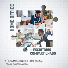 MULTIOFFICE: Home Office mais Escritório Compartilhado