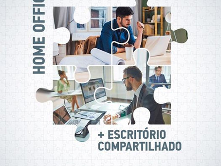 MULTIOFFICE: Home Office mais Escritório Compartilhado