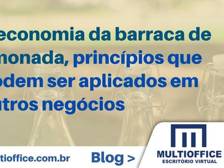 A economia da barraca de limonada, princípios que podem ser aplicados em outros negócios