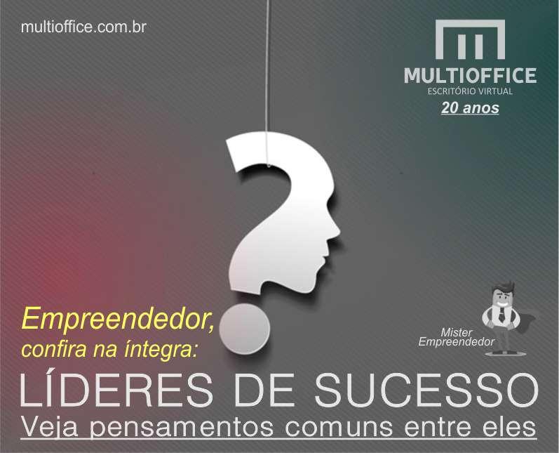 Empreendedores, Vejam alguns pensamentos Comuns em Líderes de Sucesso