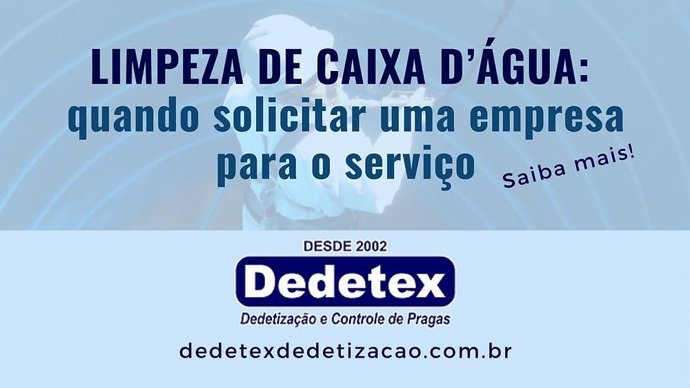 Limpeza de Caixa D'água e Cisterna: Recife e interior de PE