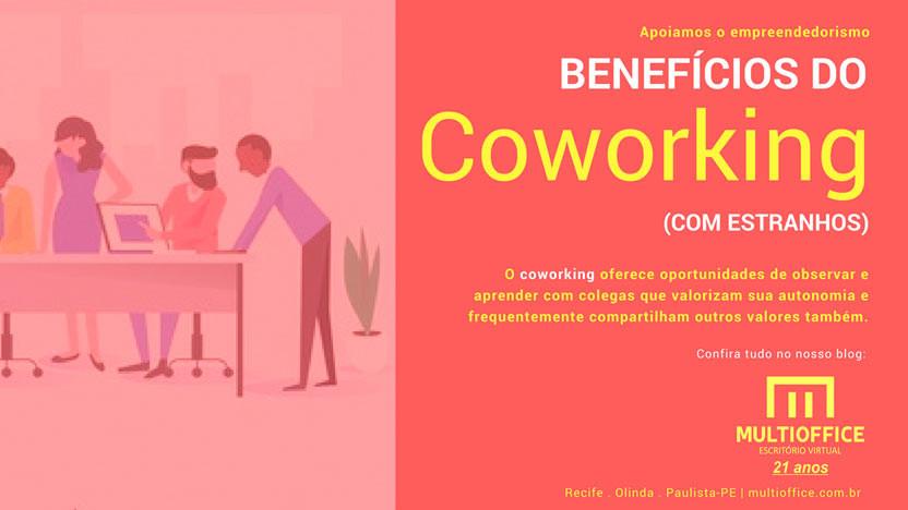 O coworking oferece oportunidades de observar e aprender com colegas que valorizam sua autonomia... Saiba mais!