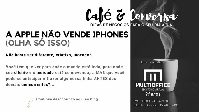 A Apple Não Vende iPhones (Olha só isso). Saiba mais!...