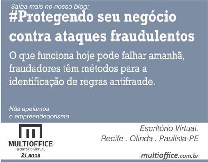 Dica Multioffice Escritório Virtual - Protegendo seu negócio contra ataques fraudulentos... (Saiba mais!)