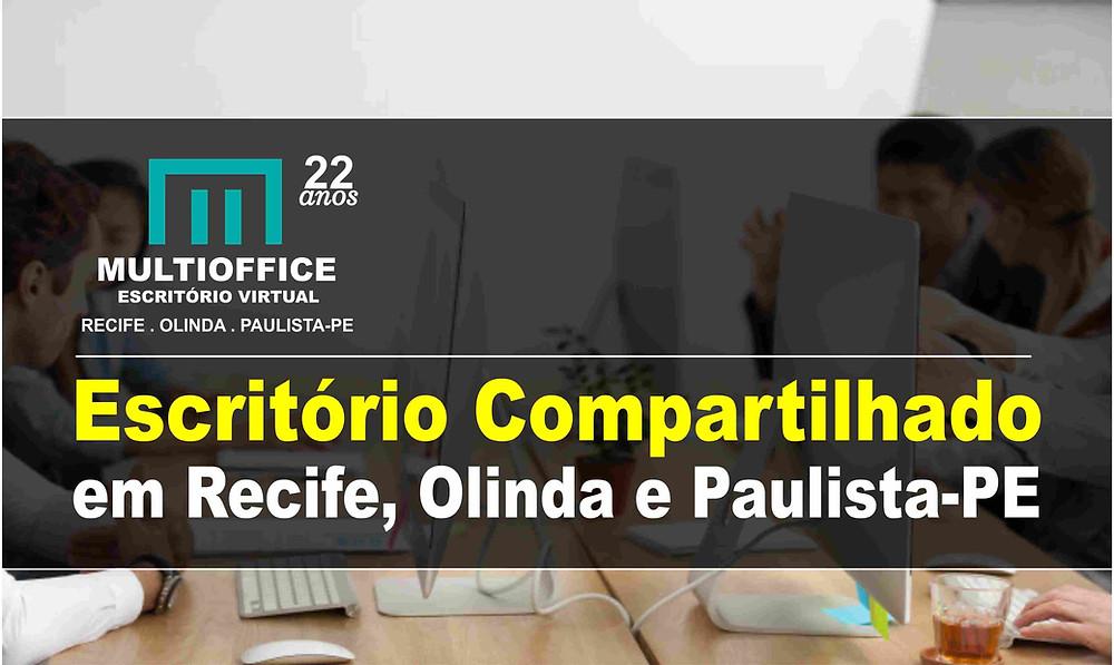 Escritório Compartilhado em Recife, Olinda e Paulista-PE