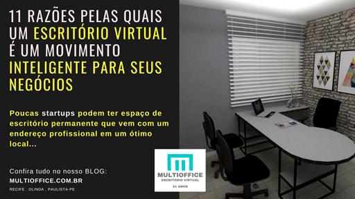 Escritórios Inteligentes Recife - PE. Poucas startups podem ter espaço de escritório permanente que vem com um endereço profissional em um ótimo local... Saiba Mais!