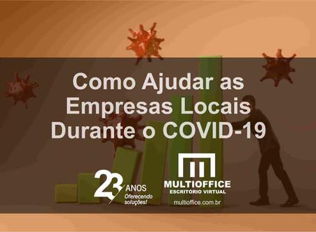 Como Ajudar as Empresas Locais Durante o COVID-19