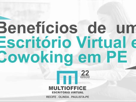 Benefícios de um Escritório Virtual e Cowoking em PE