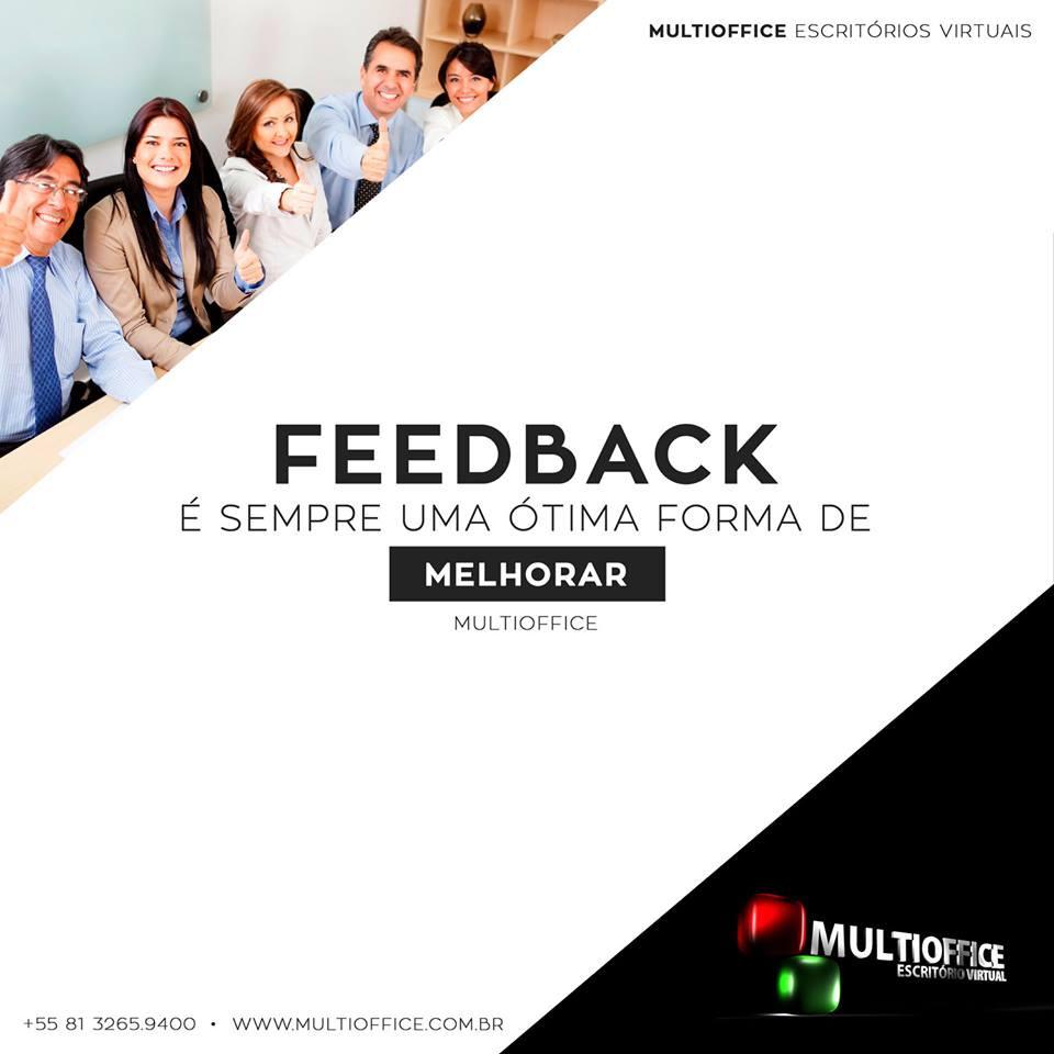 MULTIOFFICE: Feedback é sempre uma ótima forma de melhorar