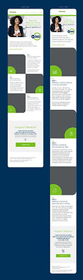 HTML Email Design for Humana an insurance client