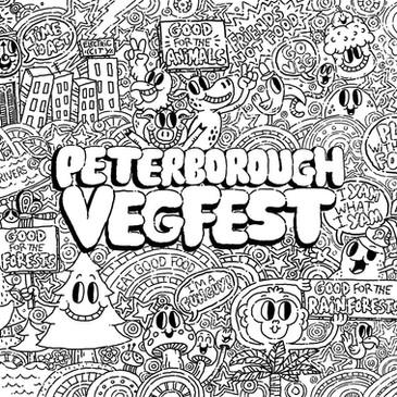 Peterborough VegFest 2017 poster