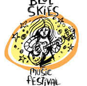 Blue Skies Music Festival 2014 design