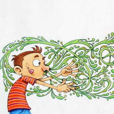Richard was a Picker book illustration