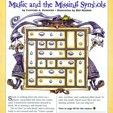 Odyssey Magazine illustration