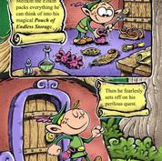 Melfkin the Elfkin illustration