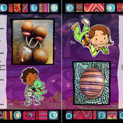 Mafolo Baby book illustration