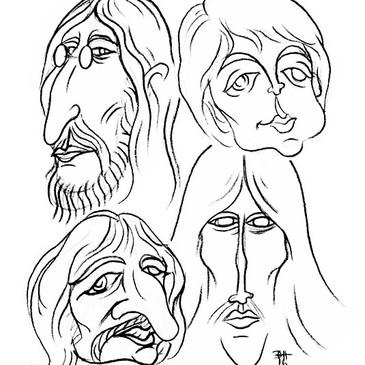 The Beatles sketch
