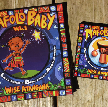 Mafolo Baby book and cd