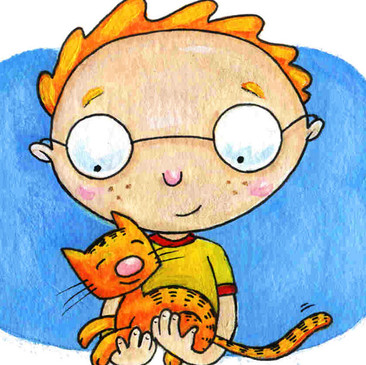 Tyler's New Friends book illustration