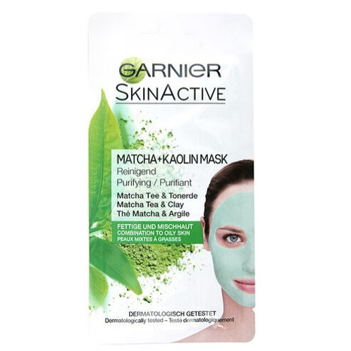 Garnier Skin Active Clay Purifying Mask 8ml (Various Types)