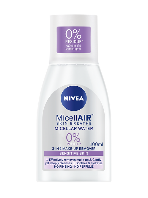 NIVEA MicellAIR Micellar Water for Sensitive Skin,100ml