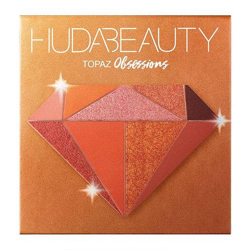 Huda Beauty Obsessions Precious Stones Eyeshadow Palette Topaz 10g