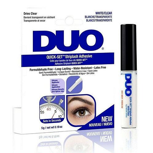 Duo Striplash Adhesive White Clear 7g (Quick Set)