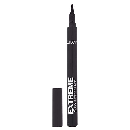 Collection Extreme 24Hr Felt Tip Eye Liner 7.8g Black 1