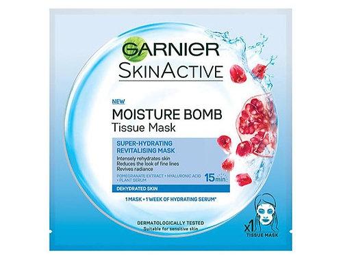 Garnier Moisture Bomb Hydrating Face Sheet Mask (Various Types)