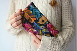 cartera hecha a mano mucho divertido