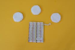 discos reutilizables algodon desmaquilla