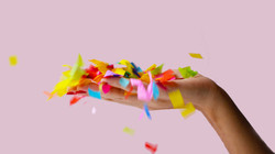 la magia del confetti