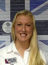 Anna Carpenter the a team 470 sailing british