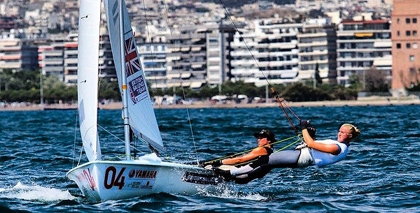Seabright Carpenter a team 470 sailing british sport athletes