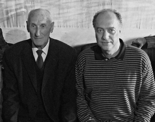 Junto con el gran folclorista de Samegrelo Polycarpe Khubulava