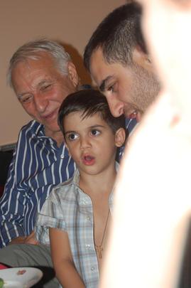 Anzor Erkomaishvili, Giorgi y Erekle Donadze, tres generaciones de polifonías