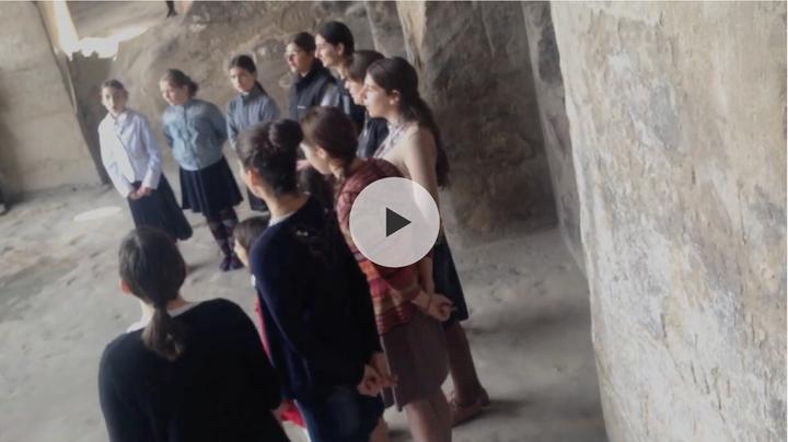 Coro de niñas Uplistsije 2014