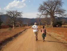 En Nzali con Chiseo Mahelela